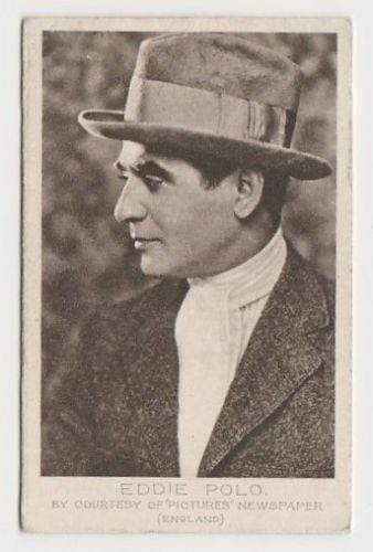 Eddie Polo 1923 Bucktrout Cinema Stars Tobacco Card #31