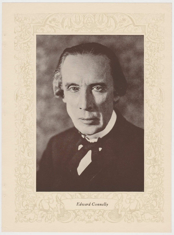 Edward Connelly 1923 MPDA Popular Film Folk 8 X 10.75 Printed Photo of Film Star