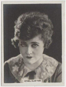 Ethel Clayton 1925 Rothmans Cinema Stars Tobacco Card #4