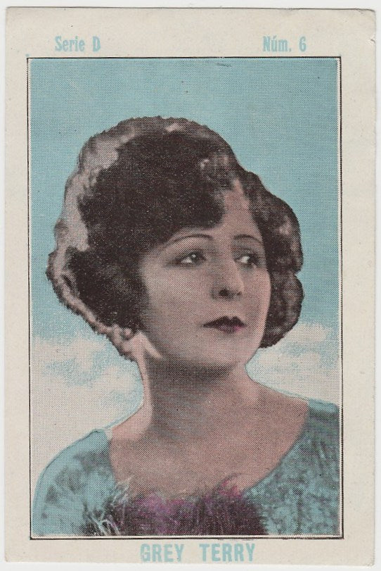 Ethel Grey Terry 1920s Juncosa PAPER STOCK Trading Card #D-6