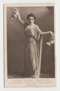 Francesca Bertini 1923 Bucktrout Cinema Stars Tobacco Card #12