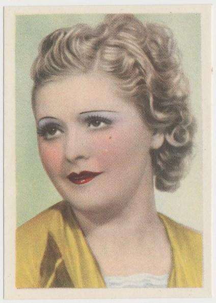 Liane Haid 1930s Editorial Bruguera Cinefoto Paper Stock Trading Card #2