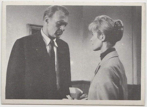 Gary Cooper + Virginia McKenna 1959 MGM Film Stars Trading Card from Italy #98