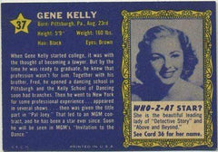 Gene Kelly 1953 Topps Who-Z-At Star Trading Card #37 Invitation to the Dance