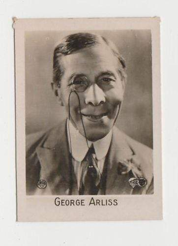 George Arliss 1931 Orami Filmfotos Serie C Tobacco Card #276 - Movie Star