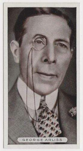 George Arliss 1934 Ardath Famous Film Stars Tobacco Card #14