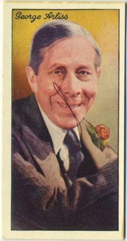 George Arliss 1935 Carreras Famous Film Stars Tobacco Card #93