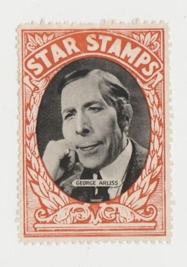 George Arliss circa 1934 Girls Mirror Star Stamps