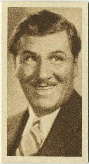 George Bancroft 1933 Sarony Cinema Stars Tobacco Card #15