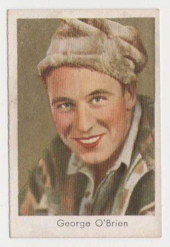 George O'Brien 1934 Salem Goldfilm Movie Star Tobacco Card #146