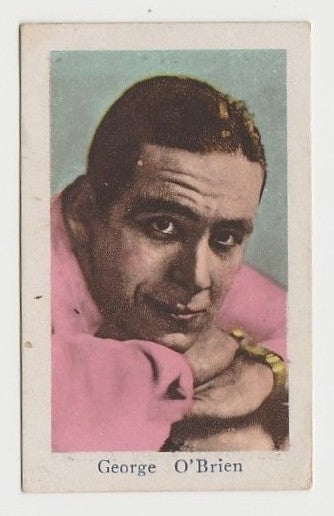 GEORGE O'BRIEN Vintage 1929 Wilder MOVIE-LAND KEENO Game Card