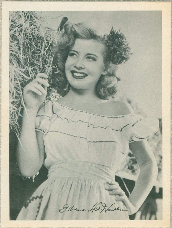 Gloria DeHaven 1946 Motion Picture Magazine Paper Premium Photo 7.5 X 10