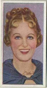 Grace Moore 1936 Carreras Film Stars by Desmond Tobacco Card #4