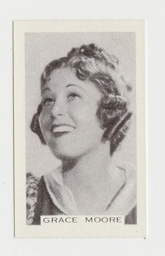 Grace Moore 1936 R95 8x10 Linen Textured Printed Photo - Vintage Premium