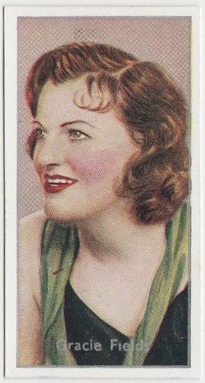 Gracie Fields 1936 Carreras Film Stars by Desmond Trading Card #50