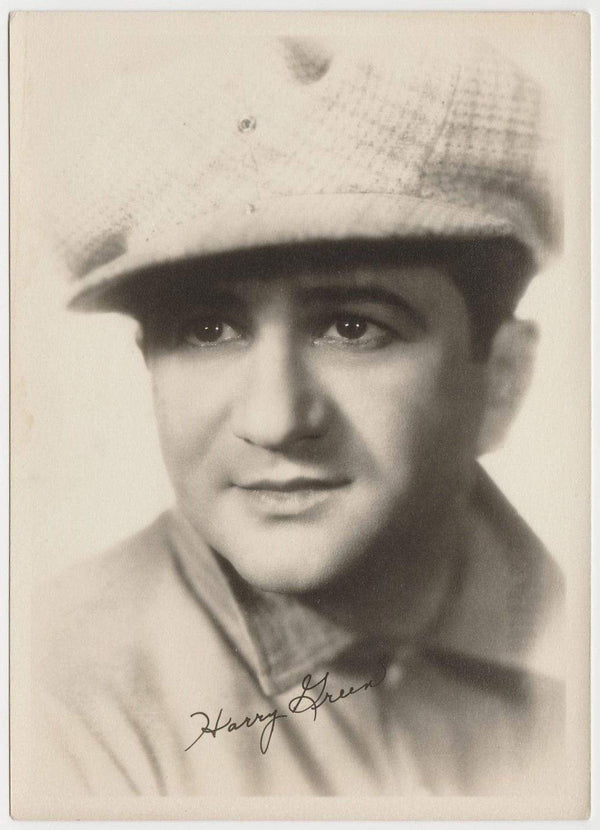 Harry Green Vintage 1920s Era 5x7 Movie Star Fan Photo
