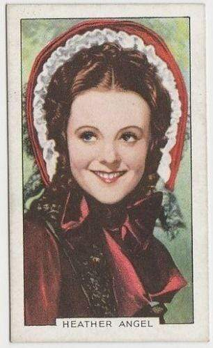 Heather Angel 1935 Gallaher Portraits of Famous Stars Tobacco Card #46