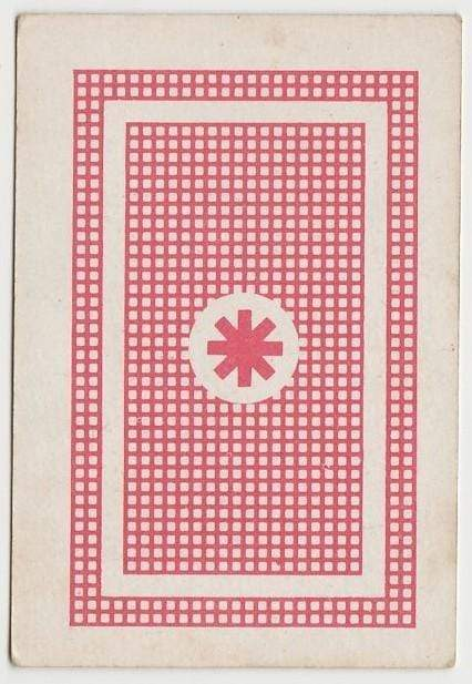 Hedley Mattingly 1960s Vintage Playing Card from Spain