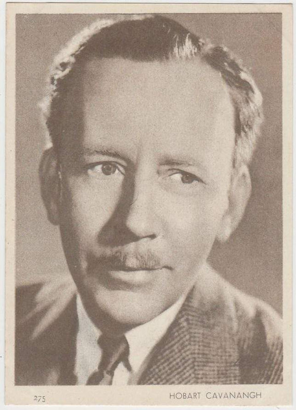Hobart Cavanagh 1930s Aguila Large Paper Stock Trading Card #275