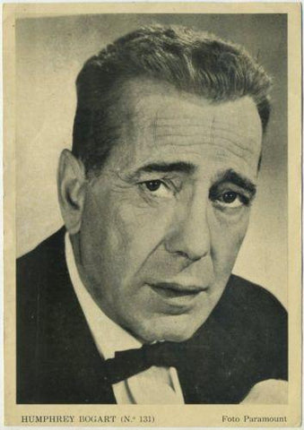 HUMPHREY BOGART Vintage 1950s Florita Magazine Supplement Photo - 4.75 X 6.75