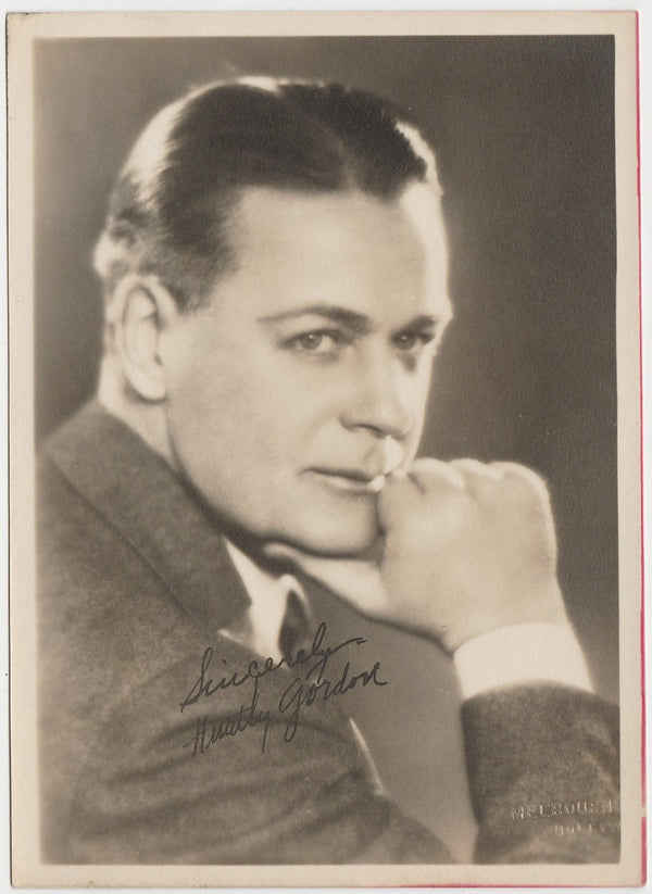 Huntley Gordon actor Vintage 1920s Era 5x7 Movie Star Fan Photo