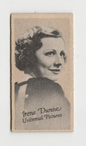 Irene Dunne 1930s Real Photo Postcard - The Milton Post Card #134