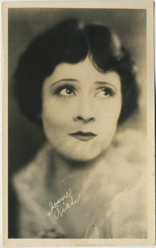Irene Rich 1920s AZO Real Photo Postcard - Film Star RPPC