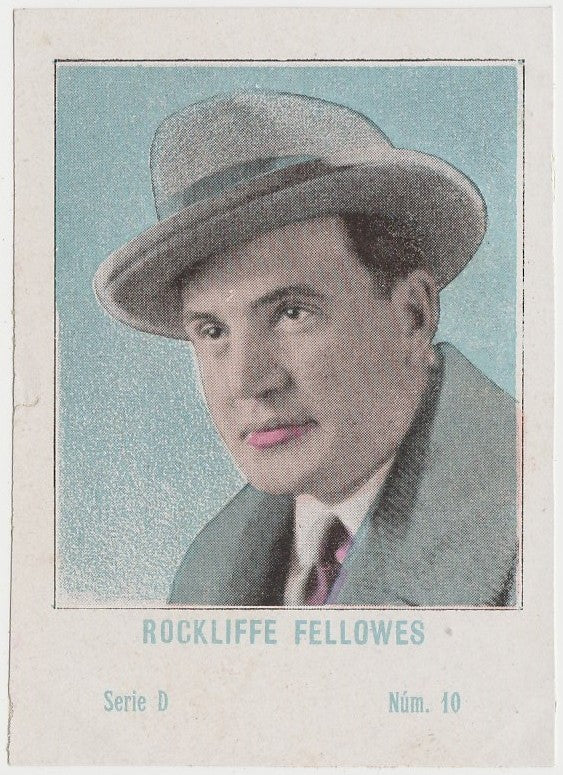 Rockliffe Fellowes 1920s Juncosa PAPER STOCK Trading Card #D-10