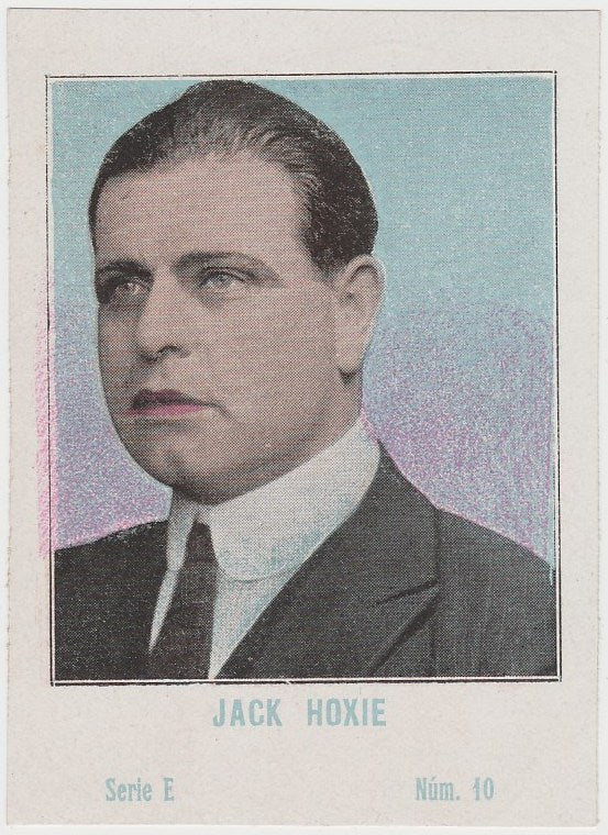 Jack Hoxie 1920s Juncosa PAPER STOCK Trading Card #E-10