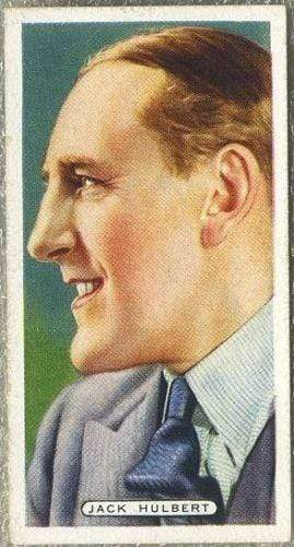 Jack Hulbert 1935 Ardath Film Stage and Radio Stars Tobacco Card #29