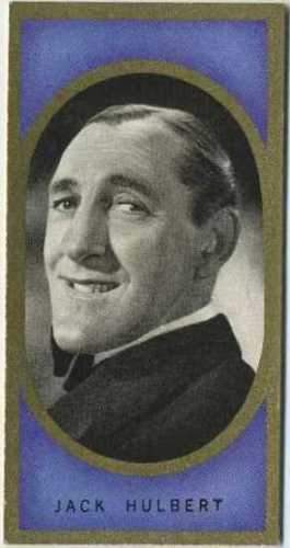 Jack Hulbert 1938 Carreras Film Favourites Tobacco Card #8 - Movie Star