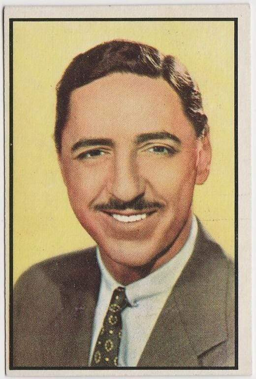 Jack McCoy 1953 BOWMAN Television and Radio Stars of NBC Trading Card #32