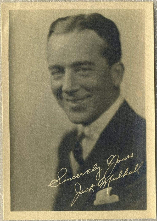 Jack Mulhall Vintage 1920s Era 5x7 Movie Star Fan Photo - Pose 2