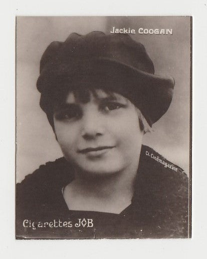 Jackie Coogan 1926 Societe Job Film Star Real Photo Trading Card