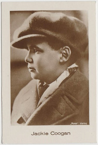 Jackie Coogan Early 1920s FOX TONE PRINT Fox Co 3x4 Real Photograph