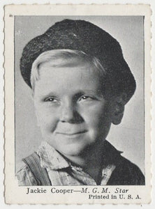 Jackie Cooper 1935 Carreras Famous Film Stars Tobacco Card #89