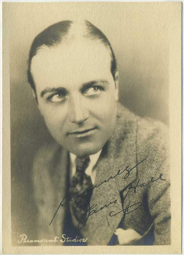 James Hall Vintage 1920s 5x7 Paramount Movie Star Fan Photo