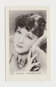 Jean Parker 1935 Carreras Famous Film Stars Tobacco Card #18