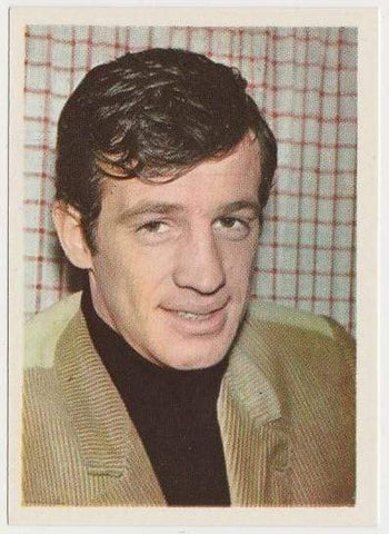 Jean-Paul Belmondo 1964 Cumbre Film and Recording Stars Trading Card #12