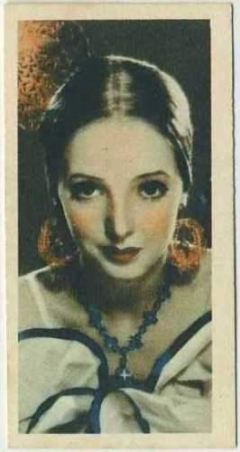 Jessie Matthews 1934 Godfrey Phillips Film Stars Tobacco Card #14