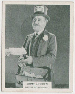 Jimmy Godden 1934 ARDATH British Born Film Stars Tobacco Card #14 LARGE