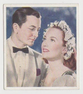 Joan Crawford + Robert Young 1939 Godfrey Phillips Tobacco Card FLS #5