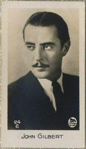 John Gilbert 1933 Bridgewater Film Stars Small Trading Card - Series 2 #24