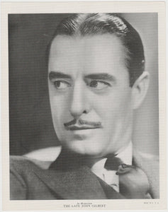 John Gilbert 1920s Universal Novelty Snapshots of Movie Stars Trading Card