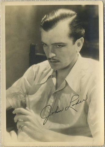John Loder Vintage Late 1920s Era 5x7 Movie Star Fan Photo