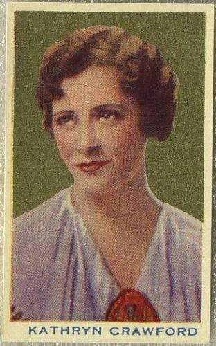 Kathryn Crawford 1939 Rothmans Beauties of the Cinema Movie Star Tobacco Card