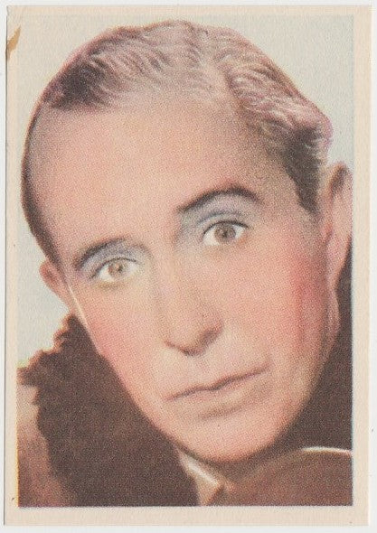 Charles Butterworth 1930s Editorial Bruguera Paper Trading Card #8