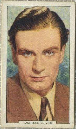 Laurence Olivier 1939 Gallaher My Favourite Part Tobacco Card #22