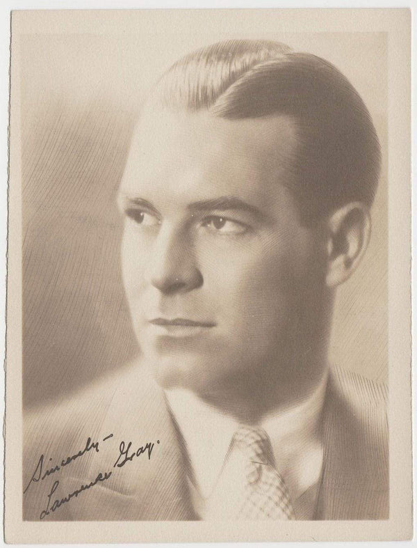 Lawrence Gray Vintage 1920s Era 5 X 6.5 Movie Star Fan Photo