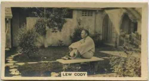 Lew Cody 1925 BAT Cinema Stars Tobacco Card #42